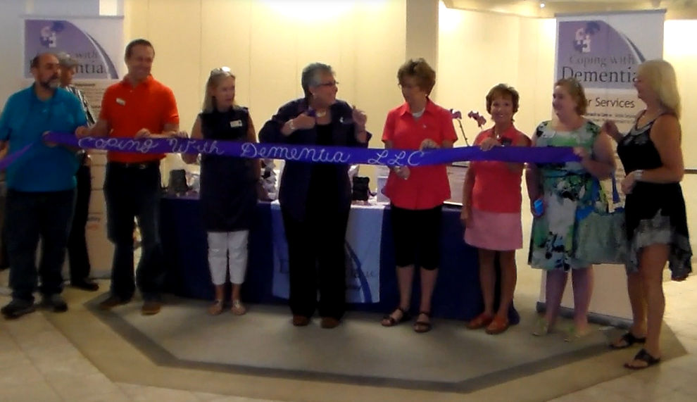Ribbon Cutting for Coping with Dementia LLC
